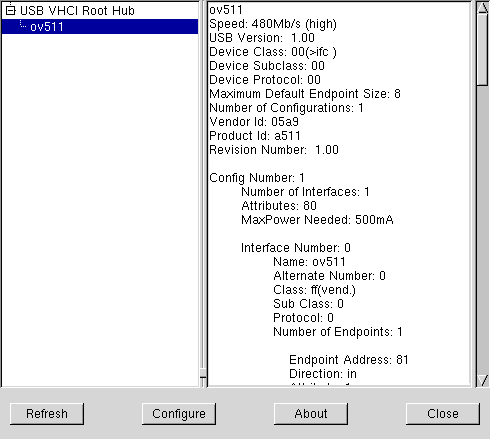 usbview screenshot